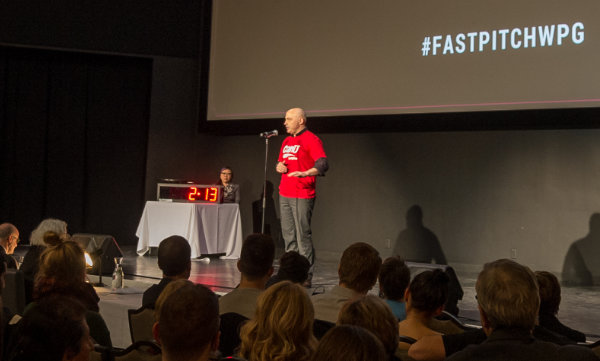 Roger Berrington at Fast Pitch