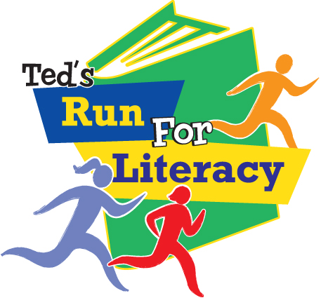 Ted's Run for Literacy logo